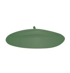 green beret hat vector image