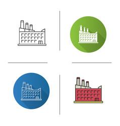 Hostel hotel icon vector