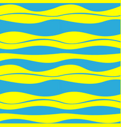 seamless patterns of abstract waves decoration vector image