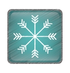 Snowflake icon image vector
