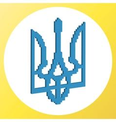 Ukrainian coat of arms vector image
