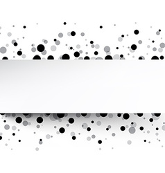 White background with drops vector