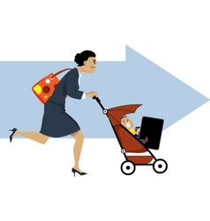 Working mother vector
