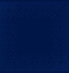 circle dark blue background circle pattern art vector image vector image
