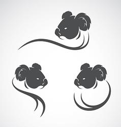 Image of an koala bear design vector