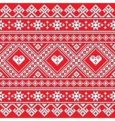 Traditional ukrainian or belarusian folk art white vector