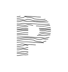 Abstract line initial p vector