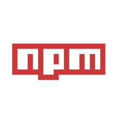 Emblem npm vector