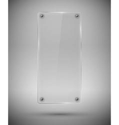 Glass framework vector