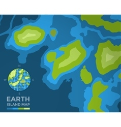Global Earth Map on background Texture vector image