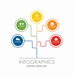 Infographic template can be vector