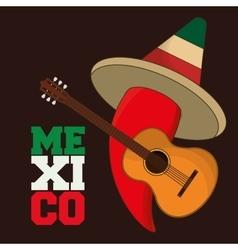 Mexico design Culture icon Colorful vector