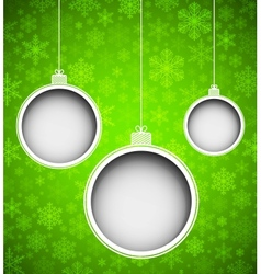 New Years toys vector image