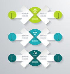 Pointer arrows Graphic or website layout vector