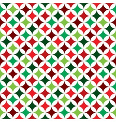 seamless pattern on a Christmas Holiday theme vector image