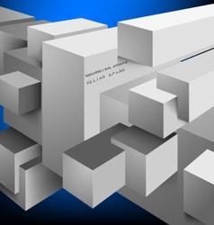 Square shaped scene vector