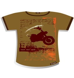 t shirt design vector image