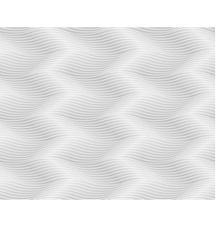 seamless light gray pattern wavy endless texture vector image vector image