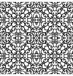 Swirly pattern vector image vector image