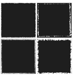 dark frame set 02 vector image