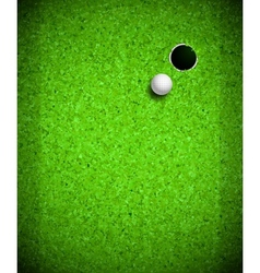 Playing Golf vector image vector image