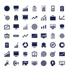 49 marketing icons vector