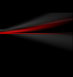 Abstract contrast red and black soft background vector image