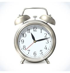 Alarm clock emblem vector image