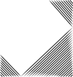 black line abstract pattern with white background vector image