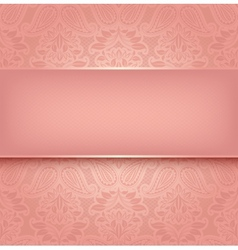 Decorative pink template - 10eps vector