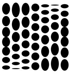distorted mesh grid geometric element irregular vector image