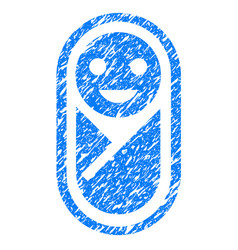 Infant grunge icon vector