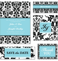vector black and pastel frame set vector image vector image