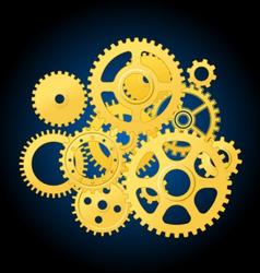 clockwork mechanism vector image vector image