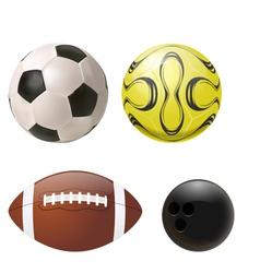balls set vector image vector image