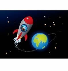deep space vector image vector image