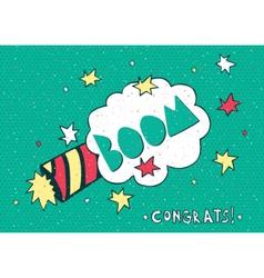 1 April Fools Day congratulation vector