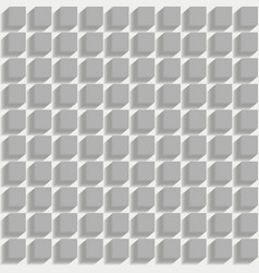3d seamless pattern vector image