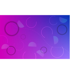 abstract background with neon color circles vector image