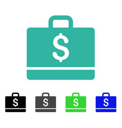 Accounting flat icon vector