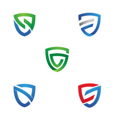 Armor shield icon vector