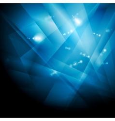Dark blue shiny technology background vector