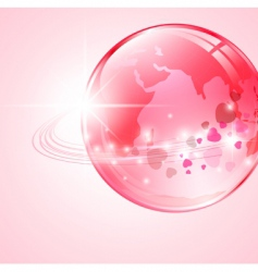 global love vector image