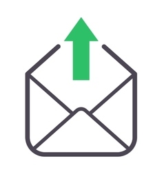 Mail icon symbol vector