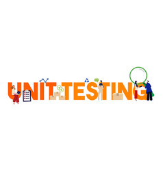 Unit testing in form programming vector