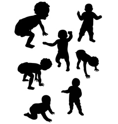 first steps 2 vector image