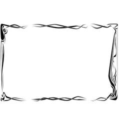 Art border vector
