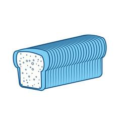 Fresh and delicious bread vector