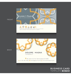 Retro Business cards Design Template vector