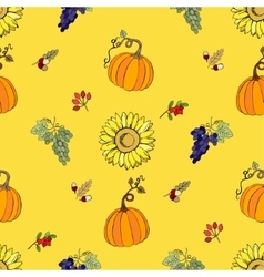 Seamless pattern Thanksgiving-022 vector